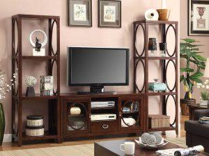 Bufet TV Minimalis Jati Klasik Natural Furniture Jepara Terbaru ARF-0010