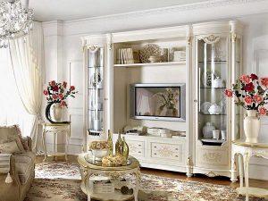 Bufet TV Ukiran Mewah Furniture Jepara Luxury Classic ARF-0019