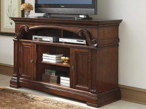Meja TV Kayu Jati Natural Classic Dark Brown Salak ARF-0048